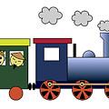Steam Train by Miroslav Nemecek