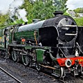 Steam Train On North York Moors Railway by Martyn Arnold