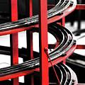 Steam Train Spiral by Susan Hendrich