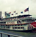Steamboat Natchez by Melanie Snipes