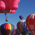 Steamboat Springs Balloons by Stan and Anne Foster