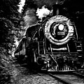 Steaming Through The Pass by Edward Fielding