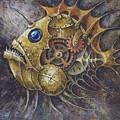 Steampunk Fish A by Irina Pankevich