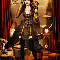 Steampunk Girl by Alicia Hollinger