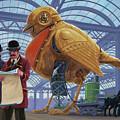 Steampunk Mechanical Robin Factory by Martin Davey