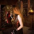 Steampunk Mirror by Davandra Cribbie