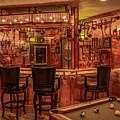 Steampunk Speakeasy Mancave Bar Art by Reid Callaway