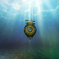 Steampunk Submarine by Valerie Anne Kelly