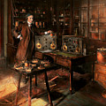 Steampunk - The Time Traveler 1920 by Mike Savad
