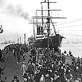 Steamship In Japan by Underwood Archives