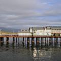Stearns Wharf Santa Barbara by Kyle Hanson