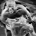 Steel Men Fighting 2 by Frederic A Reinecke