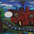 Steel Mill Nocturne by Mary Carol Williams