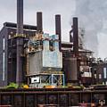 Steel Mill by Stewart Helberg