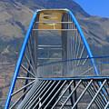 Steel Pedestrian Bridge In Ibarra by Robert Hamm