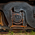 Steel Wheel Of Progess by Christopher Holmes
