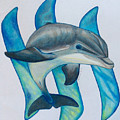 Steemit Dolphin by Red Dust