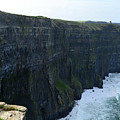 Steep Sheer Sea Cliff's Known As The Cliff's Of Moher by DejaVu Designs