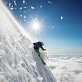Steep Summer Volcano Skiing by Ad Salaheddine