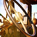 Steering Wheel - Army Transport by Glenn McCarthy Art and Photography