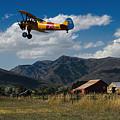 Steerman Bi-plane by Nick Gray