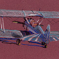 Steerman Biplane by Donald Maier