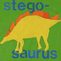 Stegosaurus by Laurie Breen