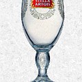 Stella Artois Chalice Painting Collectable by Tony Rubino
