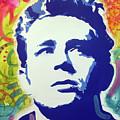 Stencil James Dean by Dean Russo Art