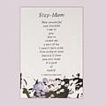 Step Mom by Felipe Adan Lerma