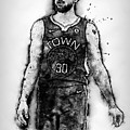 Steph Curry, Golden State Warriors - 18 by Andrea Mazzocchetti