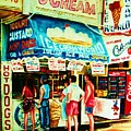 Stephanies Icecream Stand by Carole Spandau