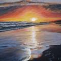 Stephanie's Sunset by Donna Tuten