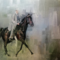 Stepping Out Tennessee Walking Horse Art by Jai Johnson