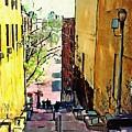 Steps At 187 Street by Sarah Loft