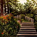 Steps Of Monte Rio by Elizabeth Robinette Tyndall
