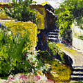 Steps To San Martin by Robert Sako