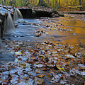 Stepstone Falls In Rhode Island by Juergen Roth