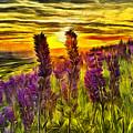 Steptoe Lupine  by Mark Kiver