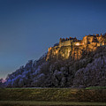 Stirling Castle Scotland At Night by Mal Bray