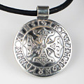 Sterling Silver Viking Celtic Cross by Virginia Vivier