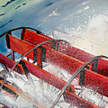 Sternwheeler Splash by Karen Stark