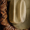 Stetson Hat And Cowboy Boot  by David and Carol Kelly