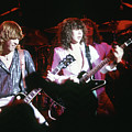 Steve Clark, Pete Willis And Joe Elliott by Rich Fuscia