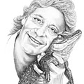 Steve Irwin Crocodile Hunter by Murphy Elliott
