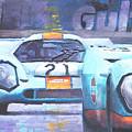 Steve Mcqueen Le Mans Porsche 917 01 by Yuriy Shevchuk