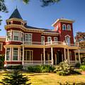Steven King Home Bangor Maine 2 by Douglas Barnett