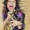 Steven Tyler by Melanie D
