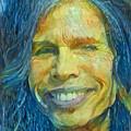 Steven Tyler by Paul Van Scott