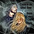 Stevie Nicks - Dave Grohl by Lori Vee Eastwood Designs for Hope